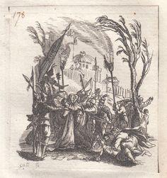 JACQUES CALLOT-IL TRADIMENTO DI GESU   -BULINO 1624-1625-L1280