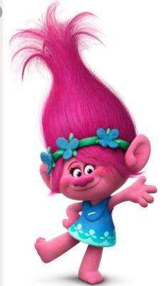 Poppy troll doll