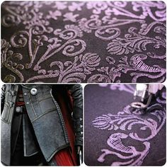 Embroidery for Evie Frye's jacket - ACSyndicate by Elanor-Elwyn.deviantart.com on @DeviantArt
