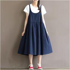 Women summer cotton skirt dress sale at  www.buykud.com  #cotton#dress##skirt#