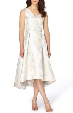 Tahari Jacquard Midi Dress available at #Nordstrom