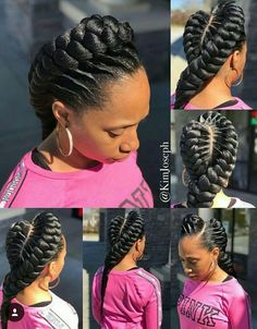 hairstyles in one hairstyles kinky twist hairstyles games hairstyles wedding hairstyles diy hairstyles simple to cute braided hairstyles hairstyles african Braided Cornrow Hairstyles, Black Hair Updo Hairstyles, African Braids Hairstyles, Cornrows, Braided Updo, Protective Hairstyles, Wedding Hairstyles, Natural Hair Braids, Kinky Curly Hair