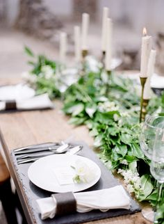 Industrial and Elegant Wedding Table | photography by http://www.lissaryanphotography.com/