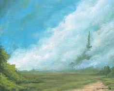 Landscape 24x30 acrylic on canvas