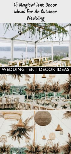 15 Magical Tent Decor Ideas for an Outdoor Wedding - Green Wedding Shoes #gardenweddingGroom #gardenweddingLights #gardenweddingGown #Intimategardenwedding #gardenweddingDIY