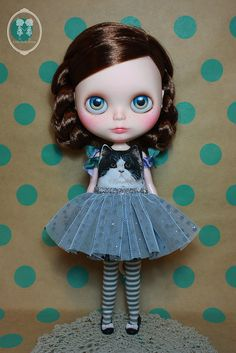 My Custom Commission Blythe Doll | Flickr - Photo Sharing!