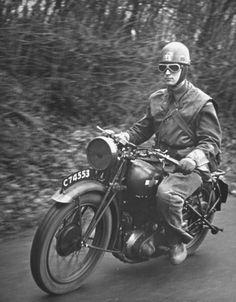British Dispatch rider