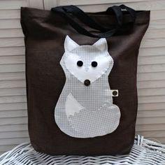 Torba Lis - Fox bag Fox Bag, My Works, Lunch Box, Organization, Bags, Decor, Getting Organized, Handbags, Organisation