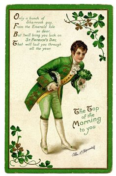 The Top of the Morning to You on this fine St. Patrick's Day!