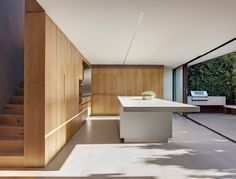Nobbs Radford #Architects have recently completed the contemporary redesign of a cottage in Birchgrove, a suburb of Sydney, Australia.