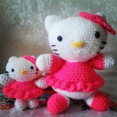 Mama y bebe kittys