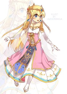 Princess Zelda by LaZoomaiga.deviantart.com on @DeviantArt