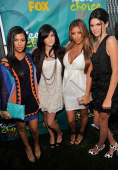 Pin for Later: Kendall Jenner Has Grown Up Before Our Eyes She briefly stopped smiling in photos in 2009. In true Kardashian-Jenner clan style.