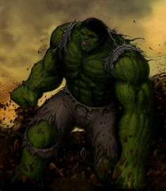 The Hulk by SavageZombie on deviantART