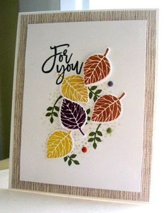 Stamp Review Crew: Thoughtful Branches
