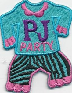 Girl Boy Cub Pajama Party PJs Sleepover Fun Patches Crests Badges Scout Guide | eBay