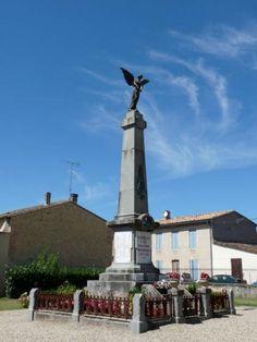 Monument aux morts – Saint-Macaire, Aquitaine