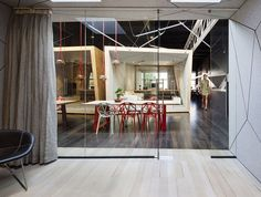 Australian film studio Compulsive Productions gets a makeover by Matt Gibson Architecture + Design so that its space can incorporate co-working with o. Australian Interior Design, Interior Design Awards, Commercial Interior Design, Commercial Interiors, Bathroom Interior Design, Interior Ideas, Architecture Office, Architecture Design, Gibson Studio