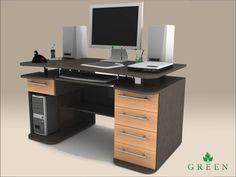 Компьютерный стол Фешион ФК-107, купить столы компьютерные производства Green, недорого Киеве - Броварах, цены