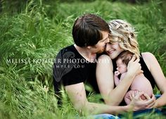 I absolutely want some outdoor pictures of us in our field with the babe. This is gorgeous!