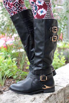 Hollow Brook Estates Boot - Black