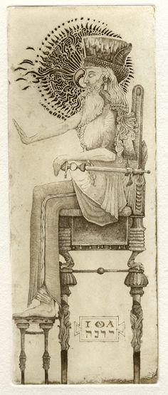 l'imperatore - Giona Fiocchi - Iona Tarot