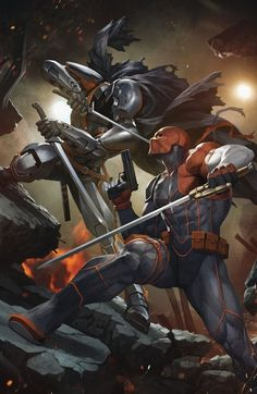 Deathstroke the Terminator Dc Arte Dc Comics, Marvel Comics, Hq Marvel, Dc Deathstroke, Deathstroke The Terminator, Deathstroke Cosplay, Comic Book Heroes, Comic Books Art, Comic Art