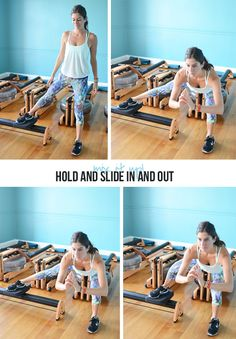 side-lunge-rowing5 Non-Rowing Exercises You Can Do on a Rowing Machine - Side Lunge with Pull Slide