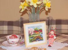 Four Seasons: Spring (Haft gobelinowy)