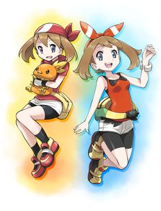 Haruka - Pokemon, pixiv