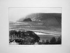 Winter Evening - Wharfedale