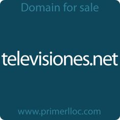 This #domain is for sale. #televisiones #television #tv