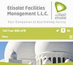 Sightline Created the website for Etisalat Facility Management LLC