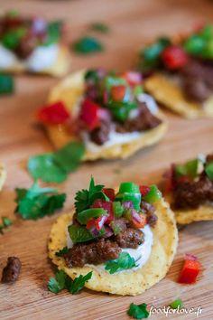 Bouchées de Nachos à la Mexicaine - Food for Love