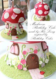 Mushroom cake.    @linda almeda