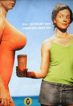 Ladies, You're Making Me Thirsty. 10 Sexy Beer Ads