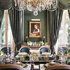 How a feast setting should look like.