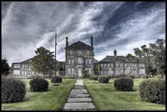Fifty One Fifty by RiddimRyder, via Flickr. Abandoned insane asylum in Ontario, Canada