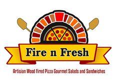 pizza logo Menu Design, Logo Design, Gourmet Salad, Pizza Logo, Wood Fired Pizza, Shops, Restaurant, Concept, Pizza