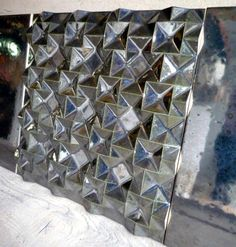 Normandy Ceramic geometric relief tile