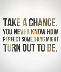 Give love a chance.