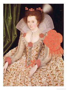 Marcus Gheeraerts Princess Elizabeth Stuart 1612 - Category:Portrait paintings of Elizabeth Stuart, Queen of Bohemia - Wikimedia Commons Queen Elizabeth 1, Mary Queen Of Scots, Historical Costume, Historical Clothing, Isabel I, 17th Century Fashion, 16th Century, Tudor Era, Anne Boleyn