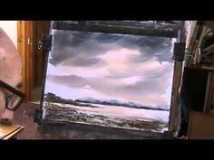 Painting skies in watercolour