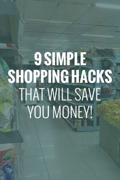 Everyone likes to save money; there's no doubt about it! Whether it's on your weekly essentials or the occasional shopping spree, everyone can benefit from some savvy savings tips. So to help you get the most out of your dollar, I've decided to share some of my favorite shopping hacks! #shopping #groceries #hacks #money