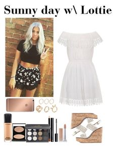 """""""Sunny day with Lottie"""" by music-lover1d ❤ liked on Polyvore featuring Ally Fashion, Tory Burch, Shany, H&M, MAC Cosmetics, Le Métier de Beauté, Mura, OneDirection, ToryBurch and onedirectionoutfits"""