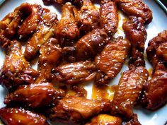 Stephanie Cooks: Crock Pot Asian BBQ Chicken Wings
