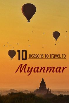 Ten of the best Myanmar travel experiences for backpackers exploring the country on a budget.... Written in 2012, updated in 2017
