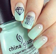 Latest Nail Art Ideas for Perfect Summer 2016 2017 Nail Art Designs 2016, Simple Nail Art Designs, Easy Nail Art, Cool Nail Art, Great Nails, Cute Nails, My Nails, Beautiful Nail Art, Gorgeous Nails