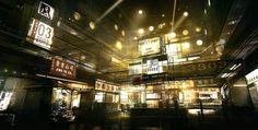 Capsule Hotel Agora Deus Ex 3 by Gryphart on DeviantArt