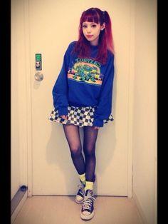 《アメリカンキッズ》ファッションがブーム!青文字系モデル「瀬戸あゆみ」コーデを参考にせよ♡ | GIRLY
